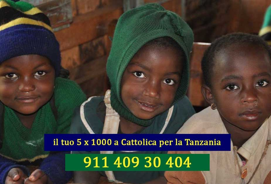 5 per 1000 per la Tanzania