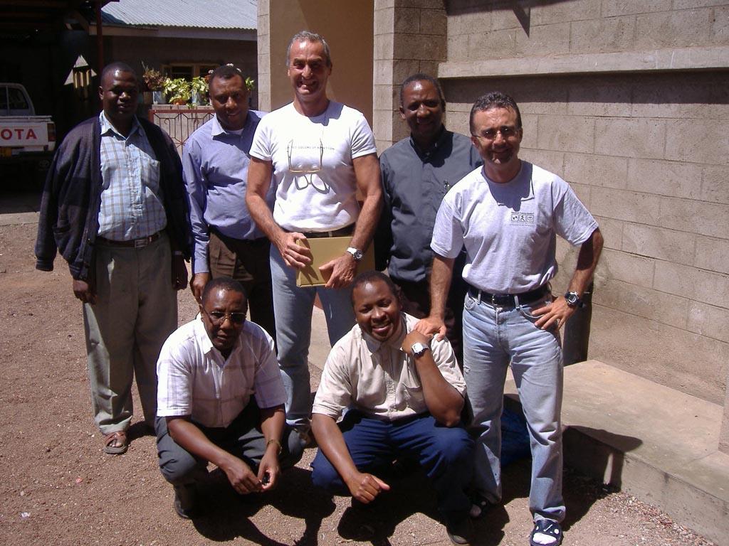 2007: Primo viaggio in Tanzania