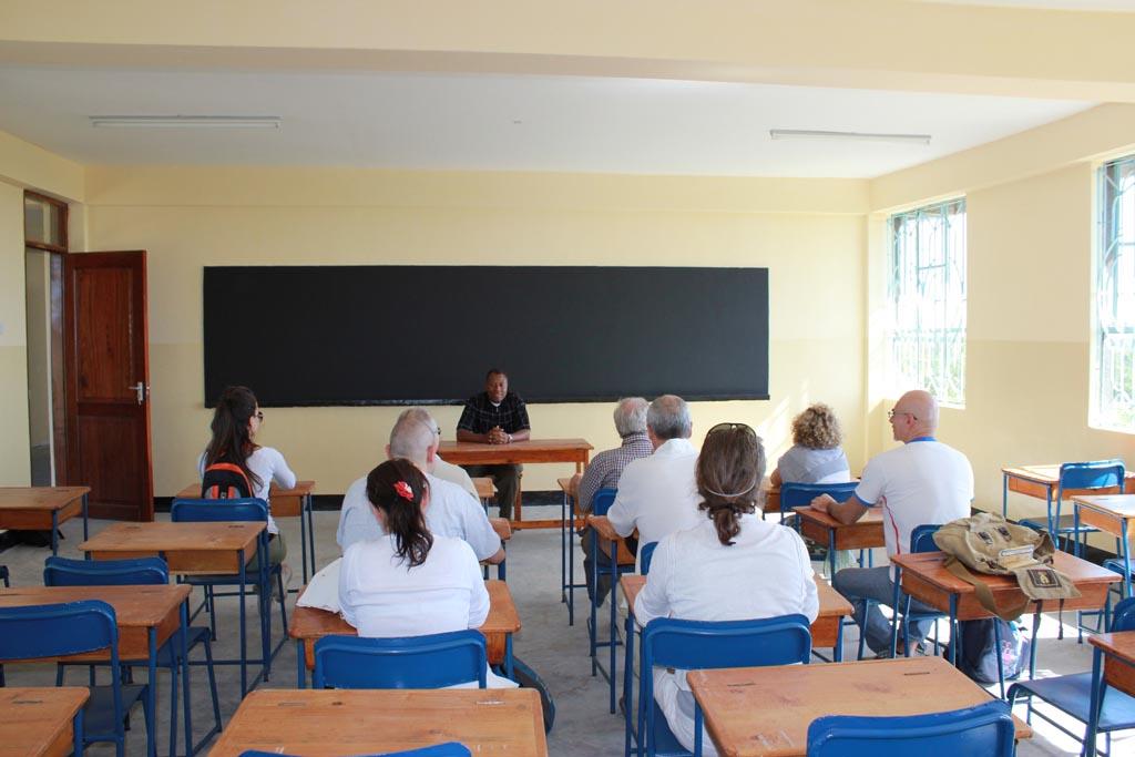 2011-09/2012-05: avanzamento lavori  kilasara Secondary School