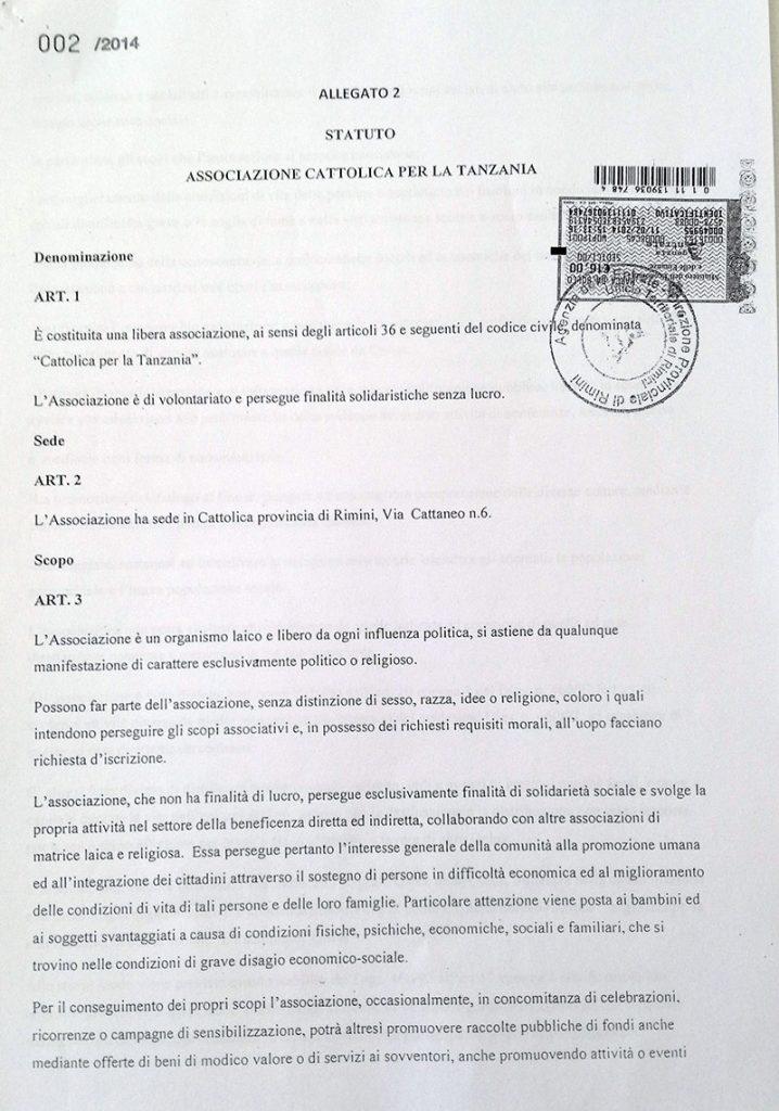 Statuto - Pagina 2